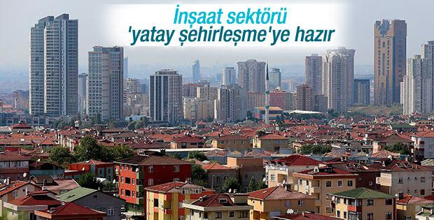 Gayrimenkul sektörü yatay şehirleşmeye hazır