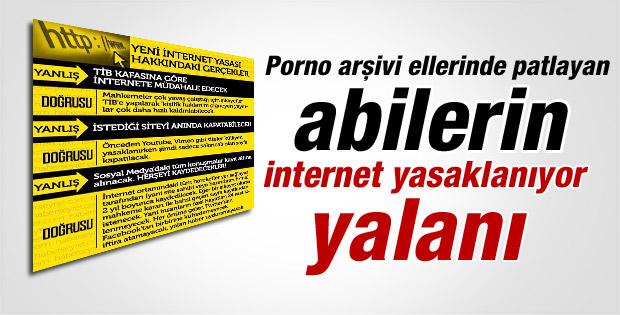 İnternet yasası yalanları