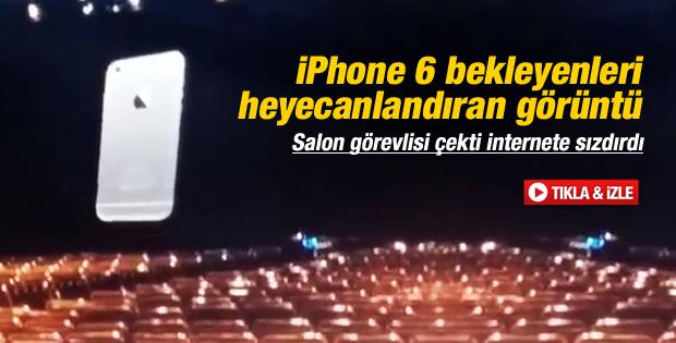 iPhone 6'nın ilk görüntüsü İZLE