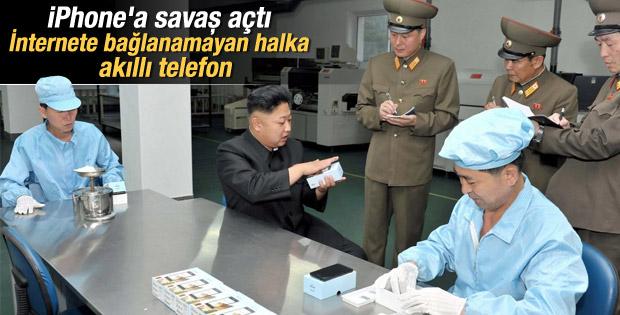 Kuzey Kore'nin tek yasal telefonu Pyongyang Touch