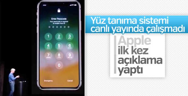 iPhone X tanıtımında skandal hata