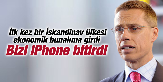 Finlandiya Başbakanı'ndan Apple'a sitem