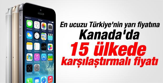 En pahalı iPhone sıralamasında Türkiye 4. sırada
