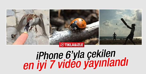 iPhone 6 ile çekilen en iyi 7 video yayınlandı