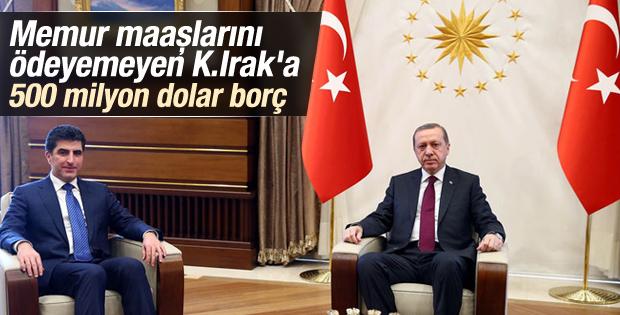 Türkiye'den Kuzey Irak'a borç para
