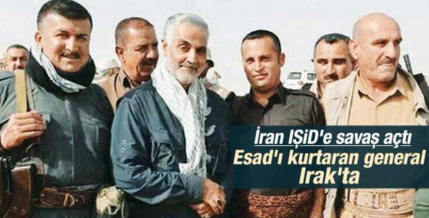 İranlı general Irak'ta IŞİD'e karşı savaşıyor