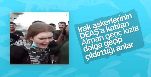 DEAŞ'a katılan Alman kızı Irak askerleri yakaladı