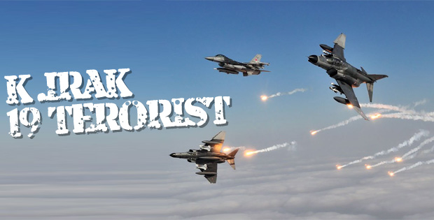 TSK: Kuzey Irak'ta 19 terörist etkisiz hale getirildi