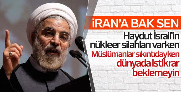 Ruhani: Nükleer anlaşmayı biz bozmayacağız