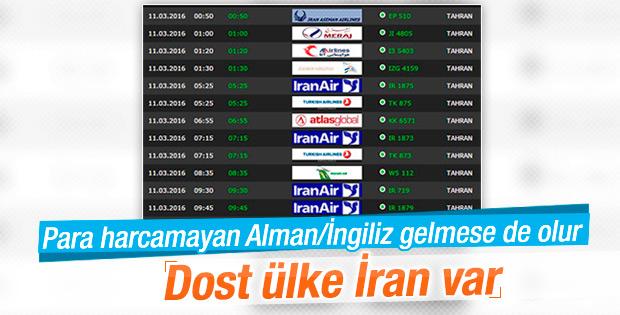 Ambargo kalkınca İranlı turistler Türkiye'ye akın etti