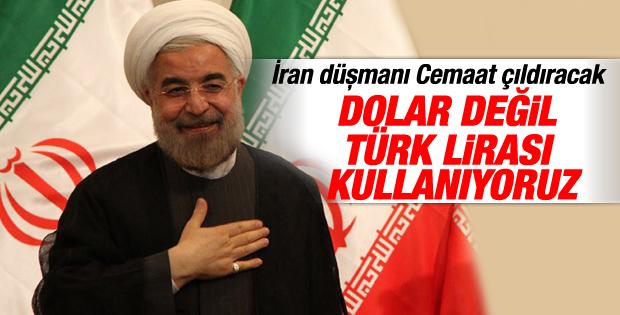 İran dolar değil Türk Lirası kullanıyor