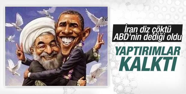 İran nükleer anlaşmaya uydu