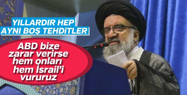 Hatemi: Yalnızca ABD'yi değil İsrail'i de vururuz