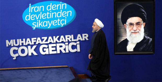 Ruhani, Tahran'daki seçim mitinginde konuştu