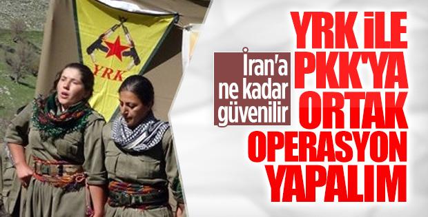 İran: PKK'ya ortak operasyon düzenleyebiliriz