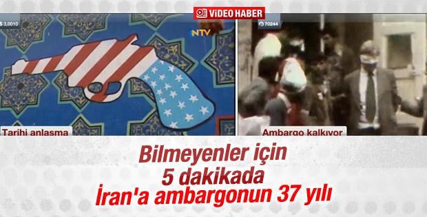 İran'a ambargonun 37 yılı VİDEO