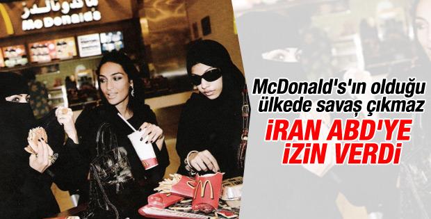 İran'dan Amerikalı fast food zincirlerine faaliyet izni