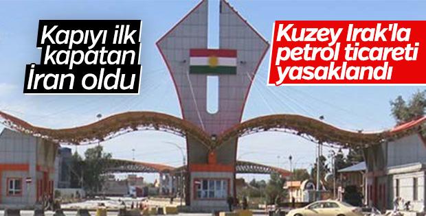 İran Kuzey Irak'tan petrol nakliyatını yasakladı