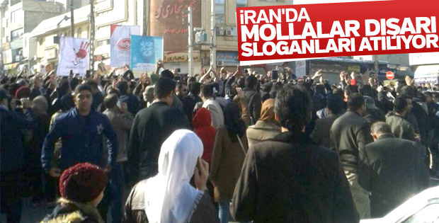 İran'da hükümet karşıtı protesto