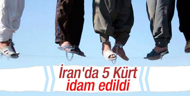 İran 5 Kürt'ü idam etti