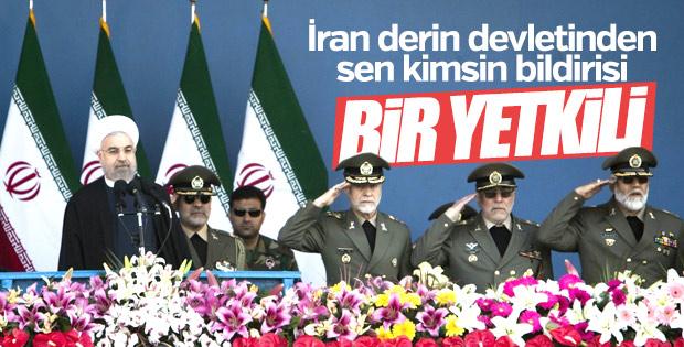 İran ordusu Ruhani'yi aşağıladı