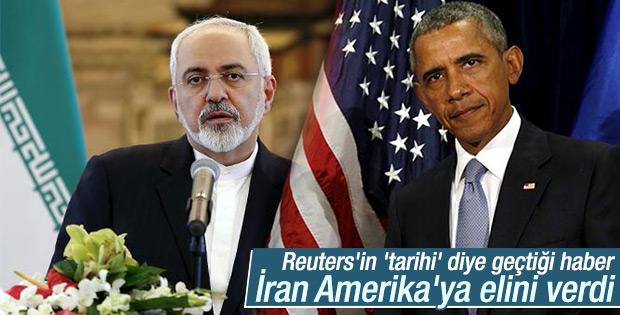 İranlı bakan Zarif Obama'yla tokalaştı