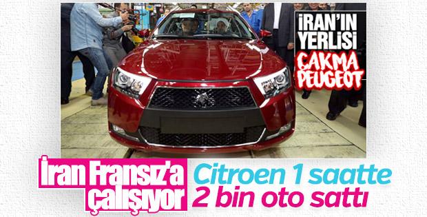İran'da bir saatte 2 bin otomobil satıldı