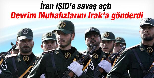 İran IŞİD'e karşı Irak'ta asker konuşlandırdı