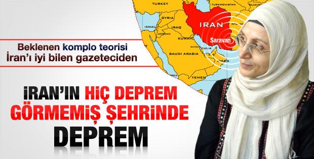 İran'daki depremle ilgili komplo teorisi