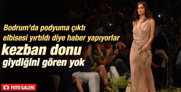 Irina Shayk Antalya'da podyuma çıktı İZLE