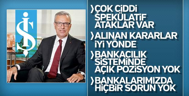 Adnan Bali Türk ekonomisinin sağlamlığına dikkat çekti