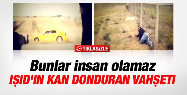 IŞİD'in otoyolda katliam görüntüleri - İzle