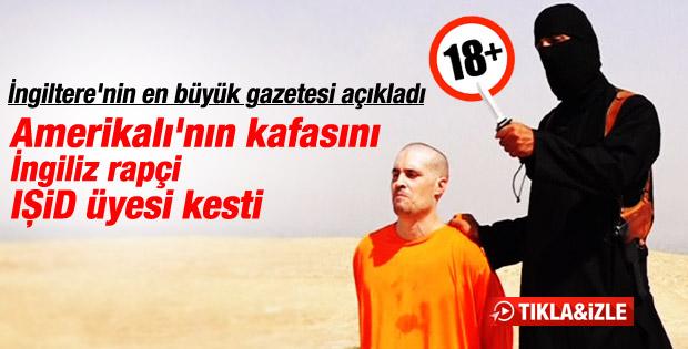 Gazetecinin başını kesen IŞİD üyesi İngiliz rapçi çıktı