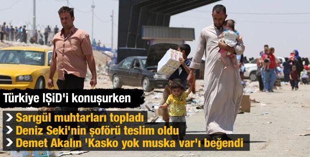 Türkiye IŞİD'i konuşurken neler oldu