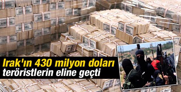 IŞİD Irak Merkez Bankası'ndan 429 milyon dolar çaldı