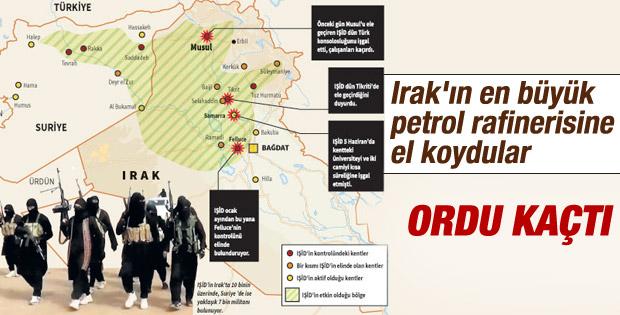 IŞİD petrol kenti Bici'yi ele geçirdi