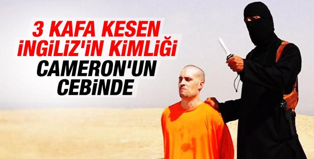 David Cameron infazcı IŞİD militanını tanıyor