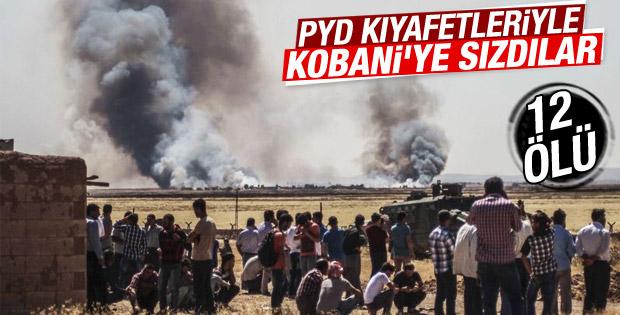 IŞİD tekrar Kobani'ye sızdı: 12 ölü