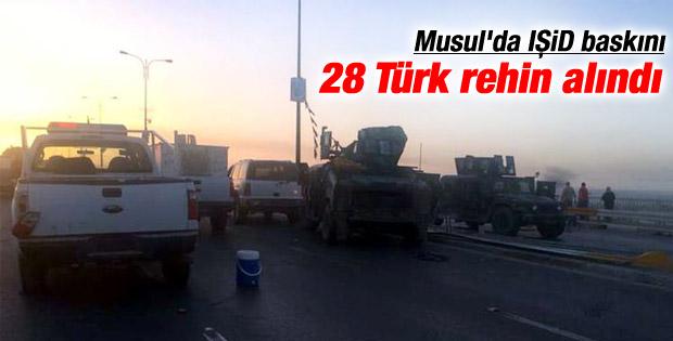 IŞİD Musul'a giden 28 Türk şoförü rehin aldı