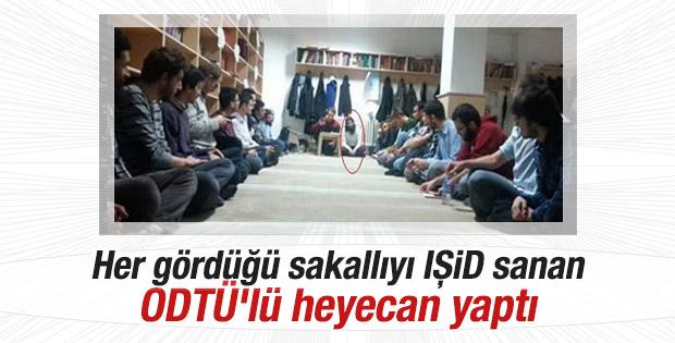 ODTÜ'de IŞİD militanı korkusu