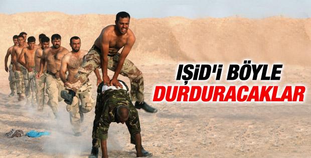 Irak'ta Şii militanların eğitim görüntüleri tartışılıyor