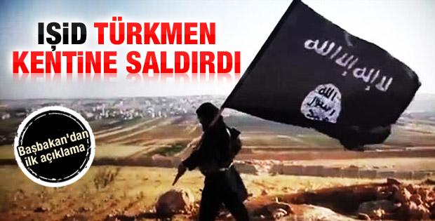 IŞİD Türkmen kenti Telafer'e saldırdı