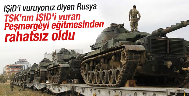 Rusya Dışişleri: Musul'daki Türk askeri varlığı illegal