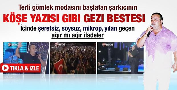 İsmail Türüt'ten Gezi Parkı için şarkı - izle