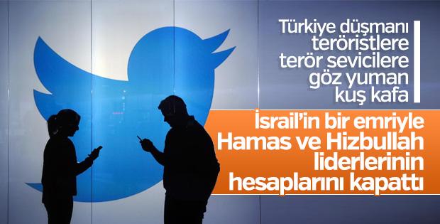 Twitter, Hamas ve Hizbullah liderlerinin hesabını kapattı