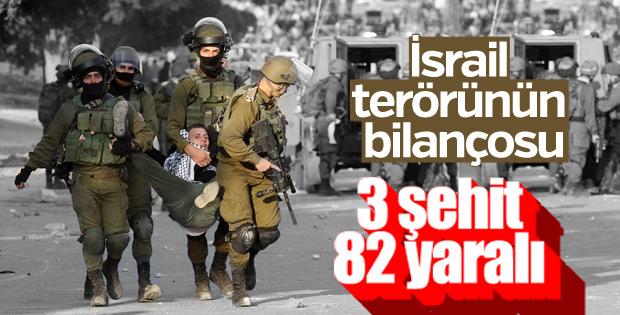Kudüs'te İsrail terörü sürüyor