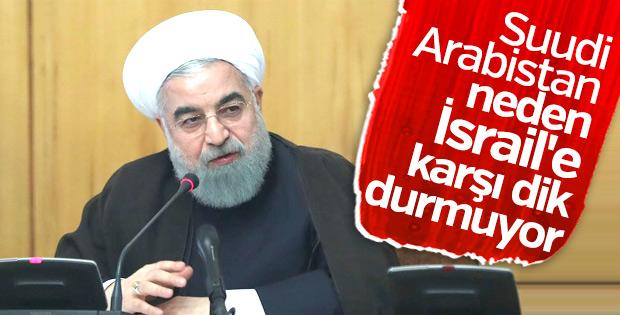 Ruhani'den Suudi Arabistan'a İsrail uyarısı