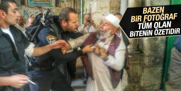 Mescid-i Aksa'da İsrail terörü