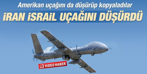 İran İsrail uçağını düşürdü İZLE