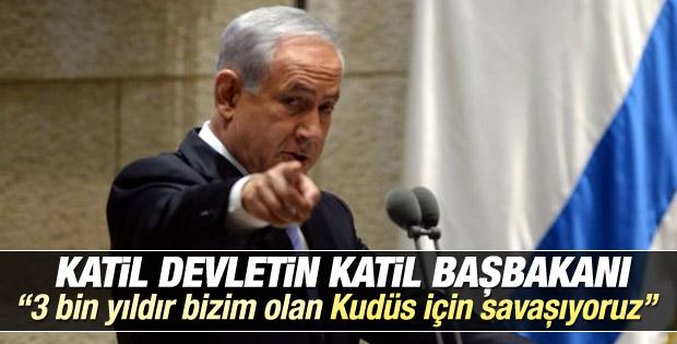 Netanyahu: Yahudilerin başkenti Kudüs için savaşıyoruz